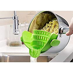 snap on strainer get this amazing gadget for awesome kitchen hacks from amazon