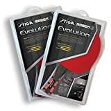 STIGA Evolution Table Tennis Racket (2 Rackets)