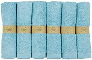 The Motherhood Collection 6 Pack Ultra Soft Baby Bath Washcloths, Rayon from Bamboo Towels, Perfect Baby Gifts | Baby Registry | Baby Travel Bathing Kit, 10