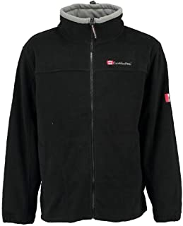 Quiksilver Fleece Pull Aker Half Zip Polaire 2019 Black Pull Tricot Veste