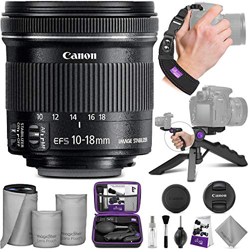 Canon EF-S 10-18mm f/4.5-5.6 IS STM Wide Angle...