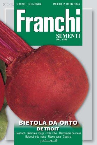 Seeds of Italy Ltd Franchi Betterave Détroit