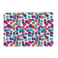 300ピース ジグソーパズル パズル シームレスな水玉明るい色 (26 X 38cm)