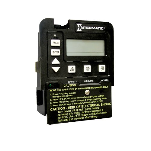 Intermatic 3-Circuit Pool/Spa Digital Time Switch