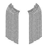 LPNJLALA Pendientes Largos Hechos a Mano para Mujer Pendientes de Diamantes de imitación llamativos Joyas de Cristal de Lujo