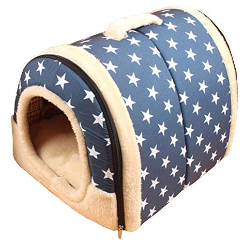 Luyshts Pet Nest, Kennel Cat Litter, Cama Plegable Universal Four Seasons for...