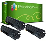 Printing Pleasure Compatible CE285A 85A Cartucho de tóner para HP Laserjet Pro P1102 P1102W M1210 M1212 M1212NF M1213NF M1217NFW M1130 M1132 M1132MFP M1134 M1136 M1136MFP P1100 - Negro, Alta Capacidad