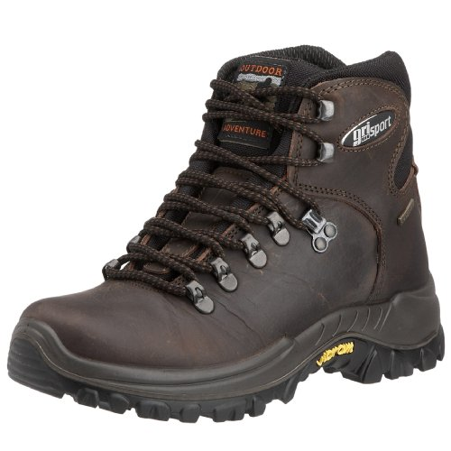 Grisport Men's Everest Hiking Boot Brown CMG473 8 UK
