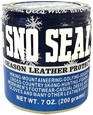Atsko Sno-Seal 1330 Original Beeswax Waterproofing (7 Oz Net Weight/ 8 Oz Overall Weight)