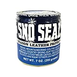 Atsko Sno-Seal Original Beeswax Waterproofing (7 Oz Net Wt/ 8 Oz overall Wt)