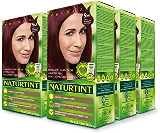 Naturtint Permanent Hair Color - 5M Light Mahogany Chestnut, 5.6 fl oz (6-pack)