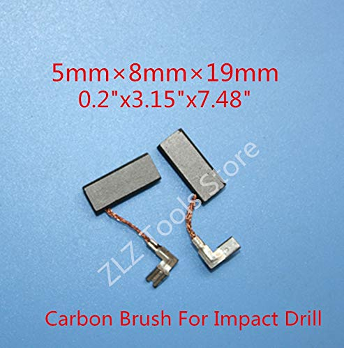Replacement Carbon Brush for Bosch GBH2-26DFR for Bosch 26 GBH2-26E GBH2-26RE GSB20-2RCE Drill Rotary Hammer - (Type: 4pcs)