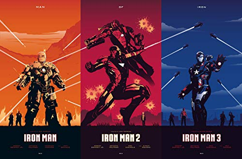 Tainsi Iron Heros Poster Man Heros - Póster (91,5 x 60 cm)