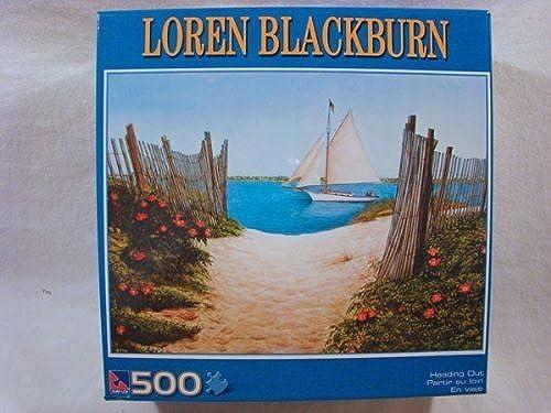 Loren schwarzburn 500 Piece Jigsaw Puzzle  Heading Out by Sure-Lox