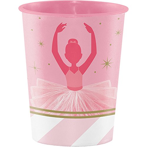 Twinkle Tenen Ballerina Plastic Keepsake Cups x 6
