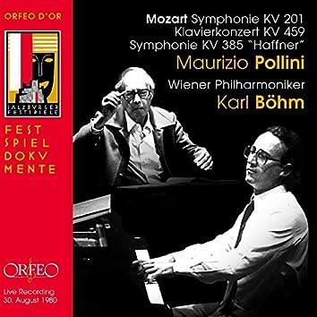 Mozart: Symphonies Nos. 29 & 35 and Piano Concerto No. 19 (Live)
