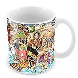 Mug one piece equipage anime crew