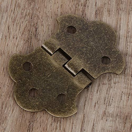 금속 기타 테일 피스 악기 도구 장착 나사가있는 3 현 시가 박스 기타 용 청동 경량