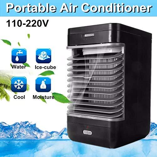 POOPFIY Refrigerador de Aire Personal, Mini Aire Acondicionado portátil Refrigeración ártica por USB La Forma fácil y rápida de Enfriar el Ventilador para el hogar