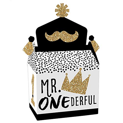 Mr Onederful Goodie Bags (Set of 12)