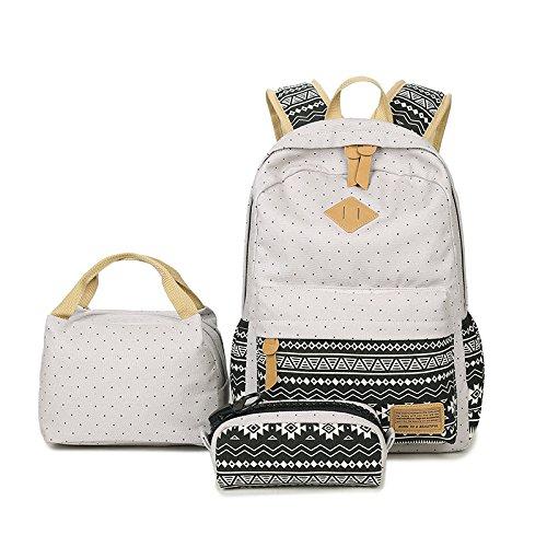 U/A Rucksack School Bag, School Bag, Lunch Bag, Three-piece Backpack
