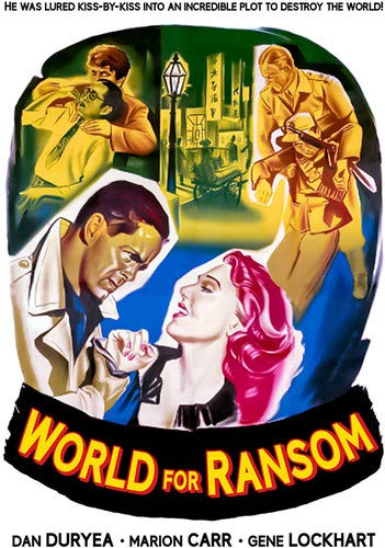 WORLD FOR RANSOM - WORLD FOR RANSOM (1 DVD)
