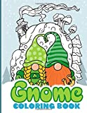 Gnome Coloring Book: Coloring Books For Adults And Kids