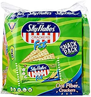 M.Y. San Skyflakes Cracker Onion&Chives Crackers, Net Wt 250g (8.8oz), 3 Pack