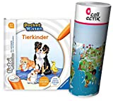 tiptoi Ravensburger Buch Pocket Wissen - Tierkinder + Wimmel Weltkarte - 4-7 Jahre, Tiere