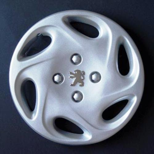 Wheeltrims Lot de 4 enjoliveurs pour Peugeot 206/106/306/406/806/Ranch/Bipper avec Jantes Originales 33 cm
