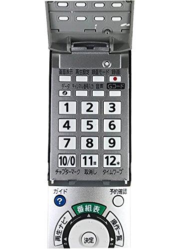 『Panasonic ハイビジョンDVDレコーダー用リモコン EUR7658YE0』のトップ画像