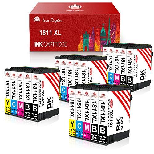 Toner Kingdom Ersatz kompatibler Tintenpatronen für Epson 18XL für Epson Expression Home XP-205 XP-212 XP-215 XP-225 XP-302 XP-305 XP-315 XP-325 XP-402 XP-405 XP-412 (20er Pack)