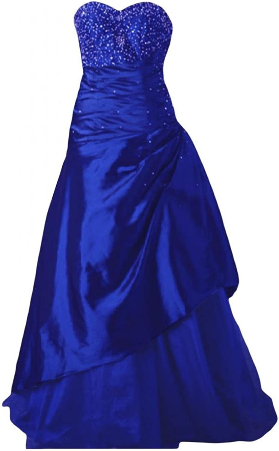 Angel Bride ALine Evening Taffeta Tulle Party Dresses Prom Gowns