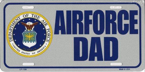 Smart Rubio Estados Unidos Air Force DAD diseño de tocador etiqueta de matrícula de metal sign