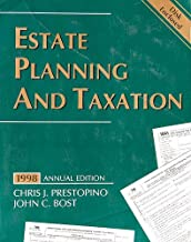 ESTATE PLANNING AND TAXATION,1998 ANNUAL EDITION