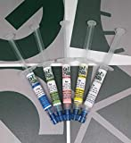 G&G Surface Technology Pasta Diamantata/Made in Italy/Diamond Lapping Paste/Set 5 siringhe da 2,5gr (1um-3um-6um-9um-15um)