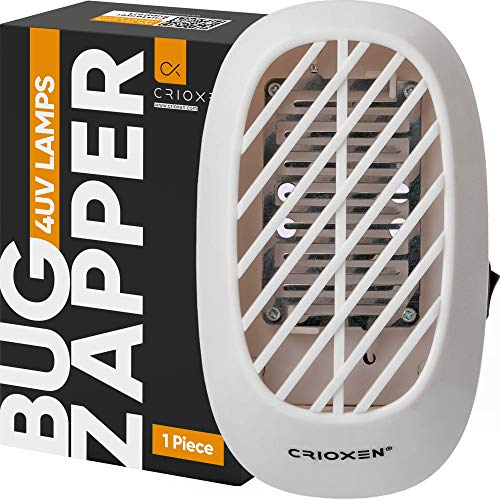 Indoor Plug-in Bug Zapper - Mosquito Trap - Indoor Mosquito Killer - Electric Insect Repellent - Gnat Trap for Mosquitoes Fruit Flies and Flying Gnats