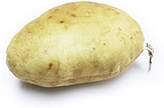 Glovion Potato Press Toy, Cute Plush Stuffed Toy ,Vegetables Decoration Toys for Potato Lover! Real Potato Size 5