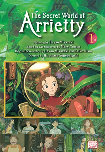SECRET WORLD OF ARRIETTY FILM COMIC GN VOL 01