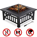 FDW Outdoor fire Pit for Wood...