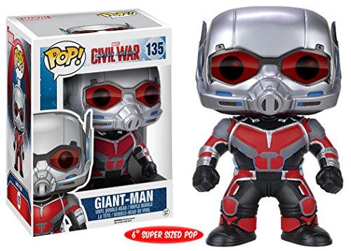 Funko Pop Giant-Man (Capitán América: Civil War 135) Funko Pop Capitán américa