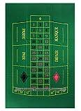 Dal Negro Roulette Mat (60 x 100 cm, single 0, European style) -