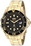 "Invicta Men's 10642 ""Pro Diver"" 18k Gold Ion-Plated Automatic Dive Watch"