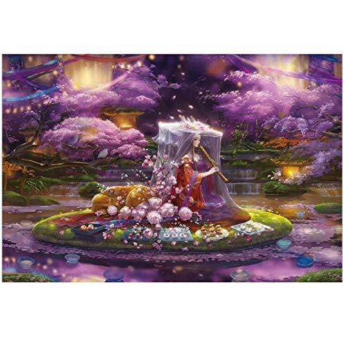 meaosy puzzel Kleurrijke Square ChallengeBeautiful, roze houtenGeen kleur of afdrukken vlekken, educatieve spel Stress Reliever voor volwassenen kinderen