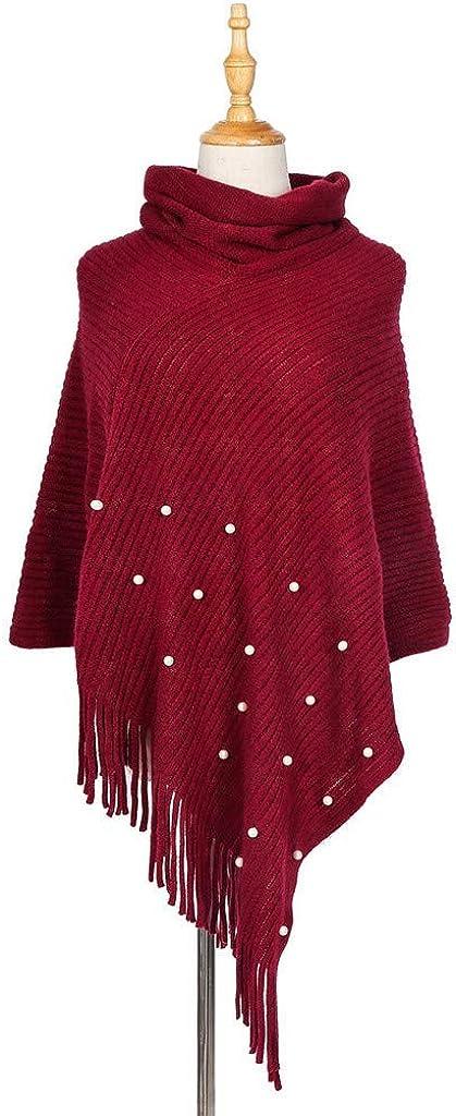 Eaylis Strickwaren Damenmode Strickschal Mantel Dual-Use-Mantel Farbe: Grau, Rot, Weinrot, Weiß, Navy, Schwarz Wein