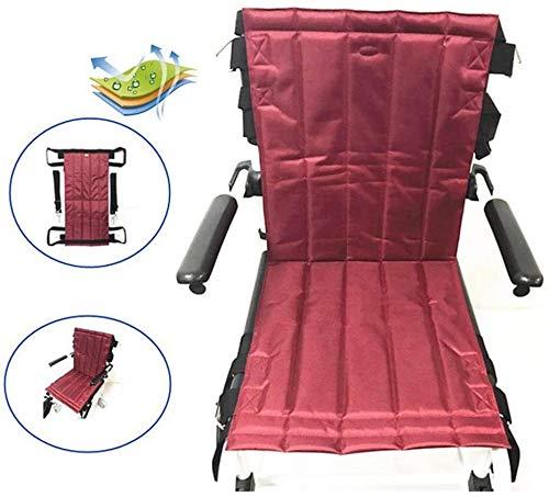 TINWG Compact Folding Ganzkörper-Patientenlift Sling Sitzpolster Mobility Notfall Rollstuhl Transportband for Transfers Aufzug Bettlägerig 0406