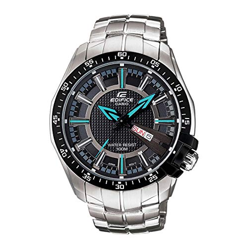 Casio Edifice Analog Black Dial Men's Watch - EF-130D-1A2VDF (ED417)