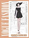 Vogue Fashion Coloring Book: 50s fashion coloring book for adults