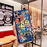 Funda de teléfono de dibujos animados Blue Ray para Samsung A10 A20e A30s A40 A50s A60 A70s A90 A01 A11 A21 A31 A41 A51 A71 Funda de silicona suave de TPU
