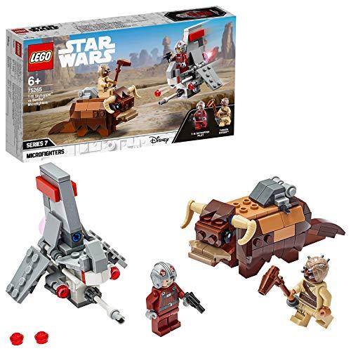 LEGO Star Wars - Microfighters: Saltacielos T-16 vs. Bantha